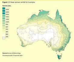 Pluviométrie Australie